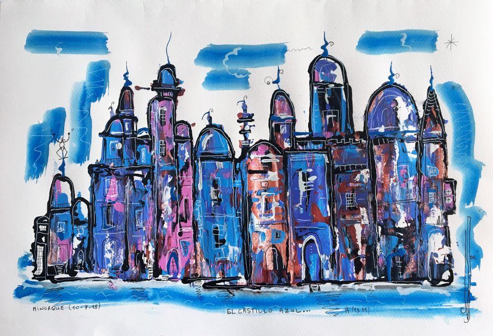el castillo azul R