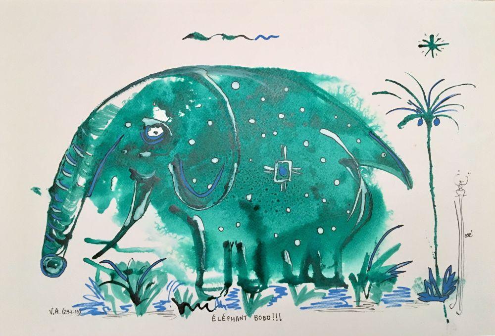 elephant bobo R