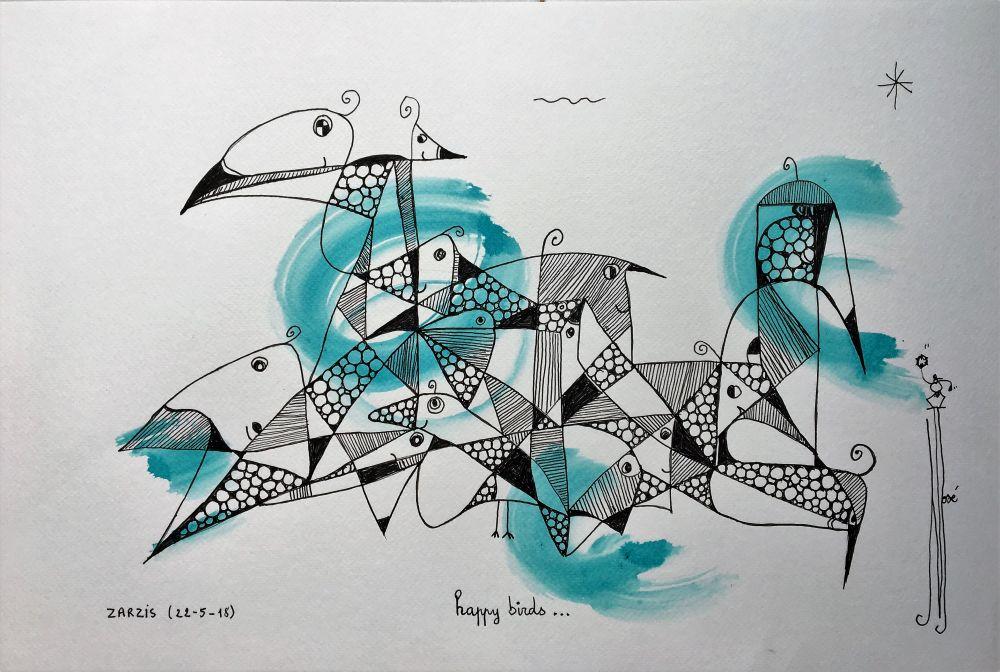 happy birds R