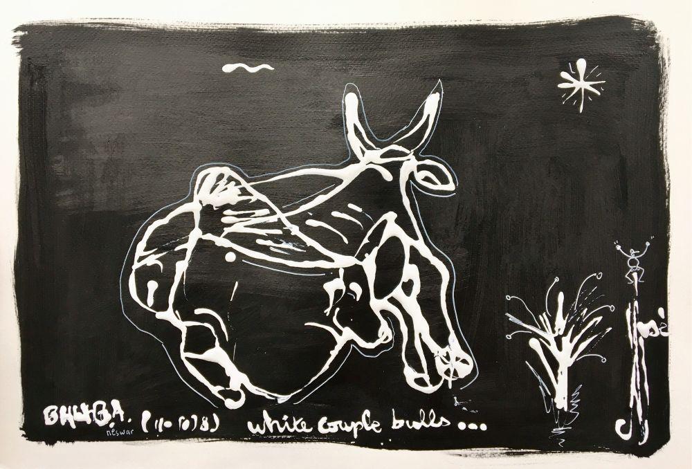 white couple bulls R