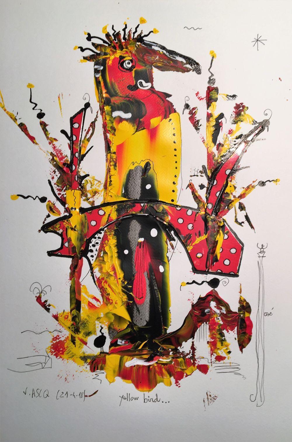 yellow bird R