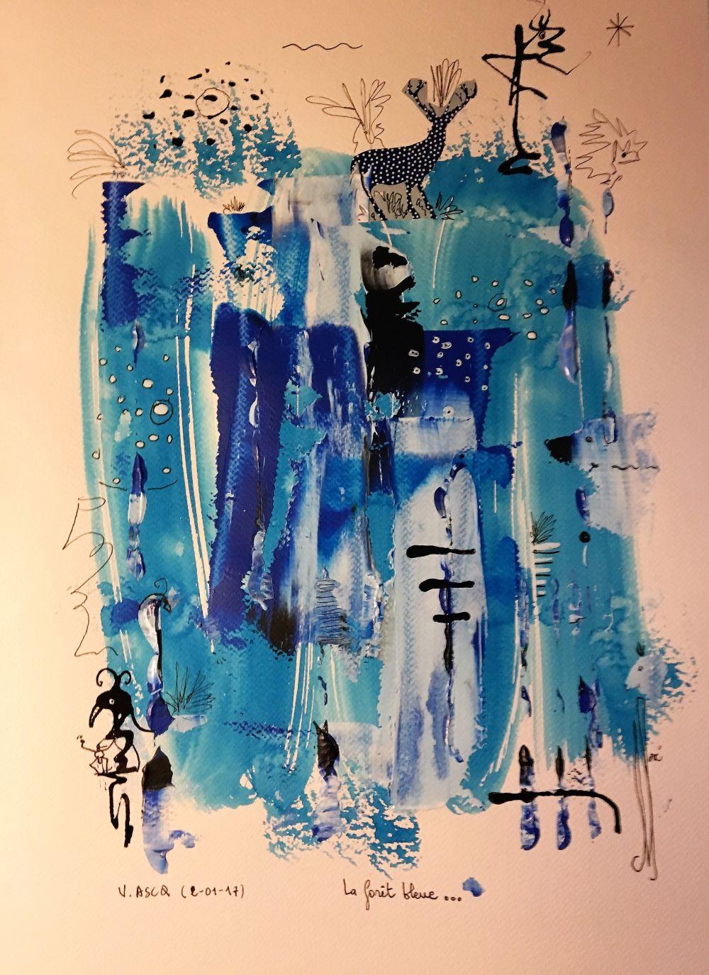 la foret bleue R