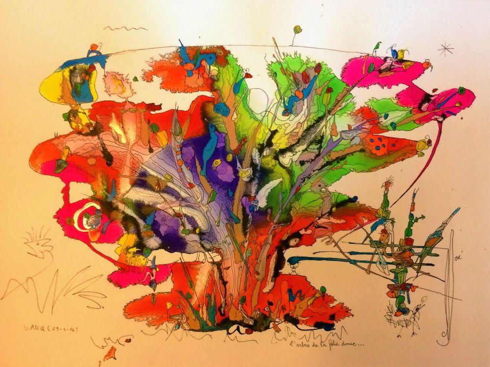 l'arbre de la folie douce R