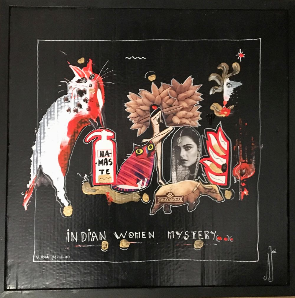 indian women mystery R